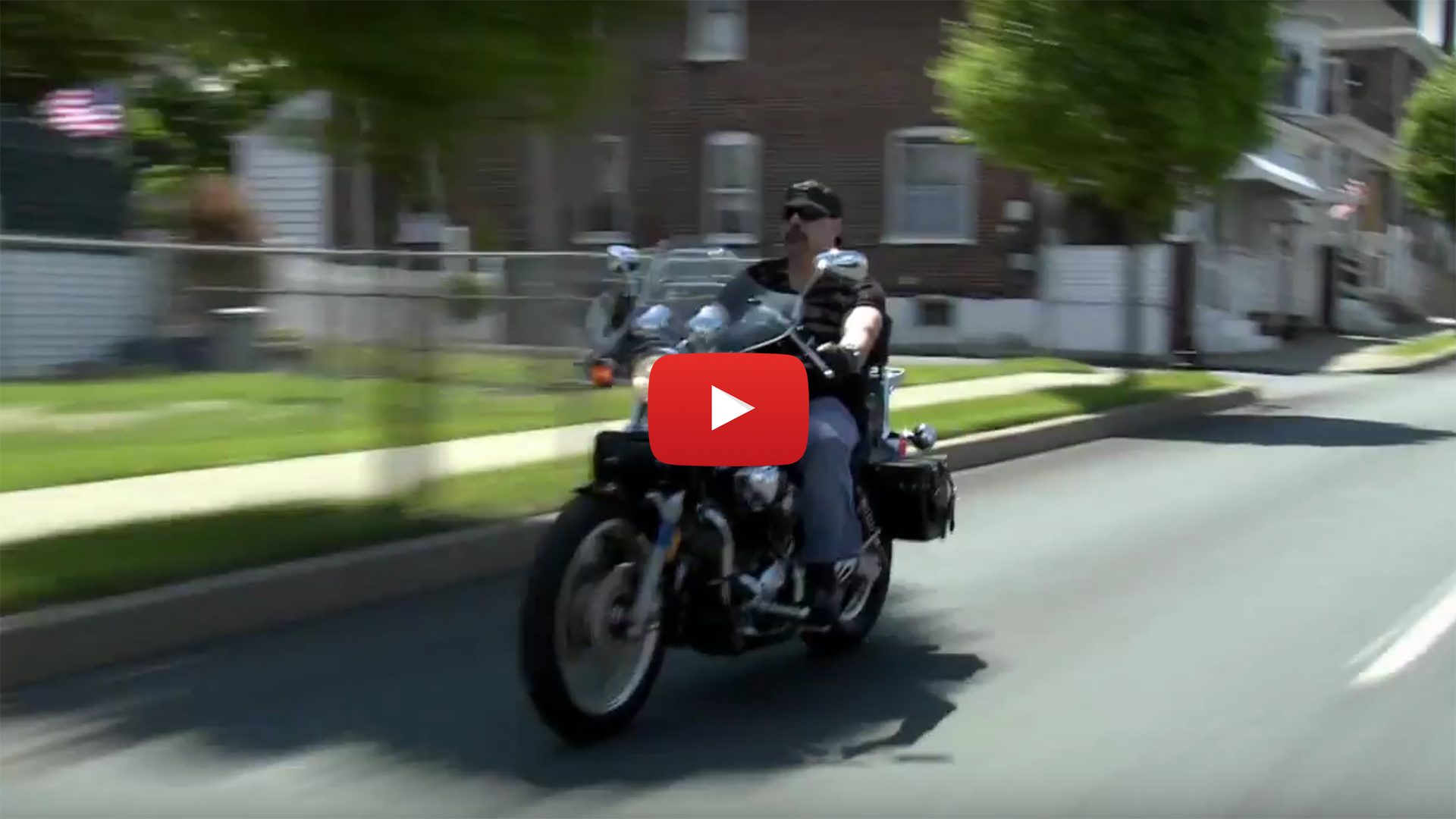 Joe Bordonaro on motorcycle